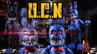 UNWITHERED AND WITHERED BONNIE😧😧(REMAKE) UCN...../PLASTILINA✔✔ OPCIONAL (PORCELANA/POLYMER CLAY)