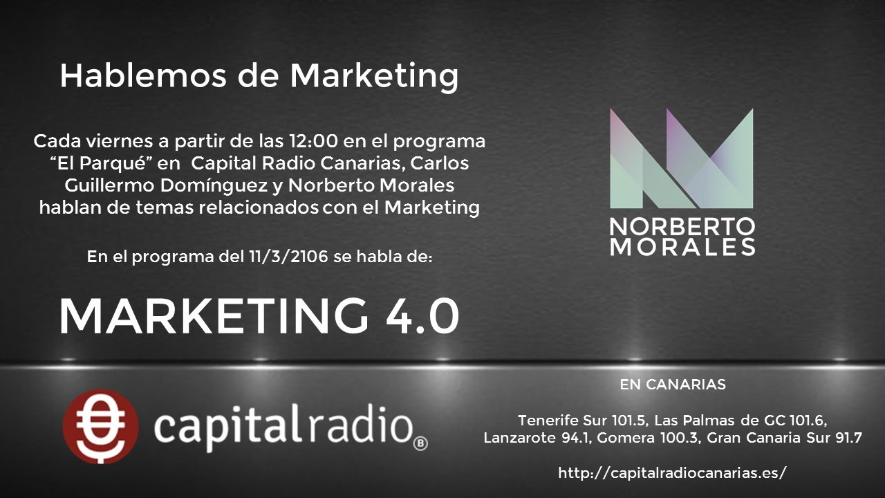 hablemos de marketing  marketing 4 0