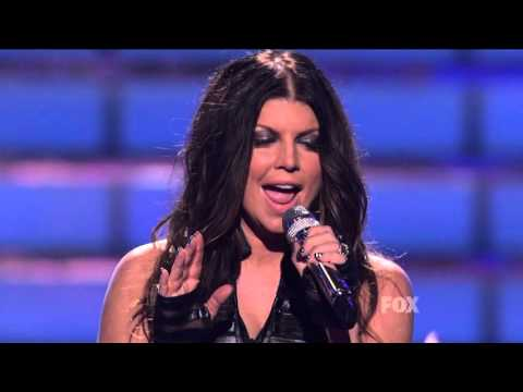 Fergie - Big Girls Don't Cry/Boom Boom Pow with The Black Eyed Peas (Live at AI)
