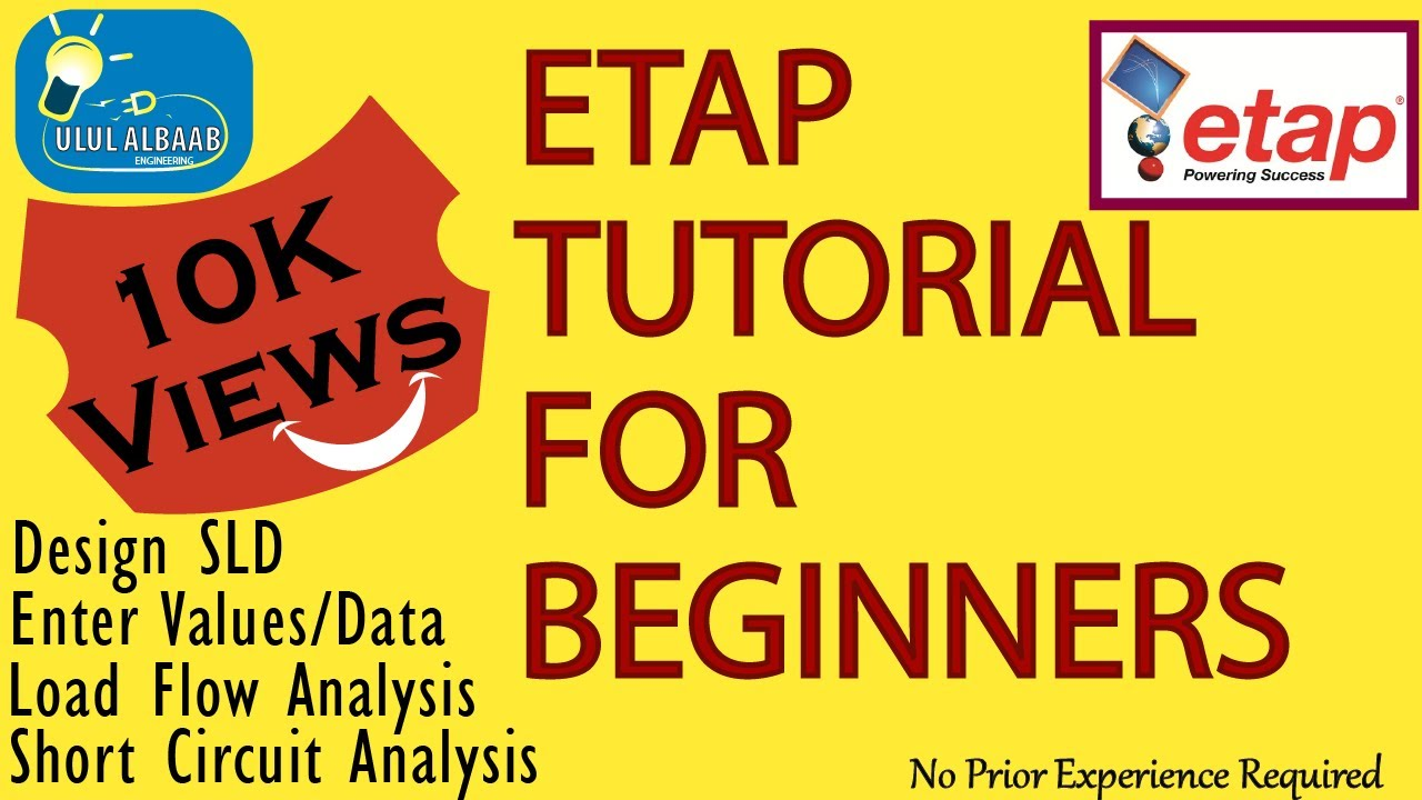 ETAP FULL TUTORIAL for BEGINNERS