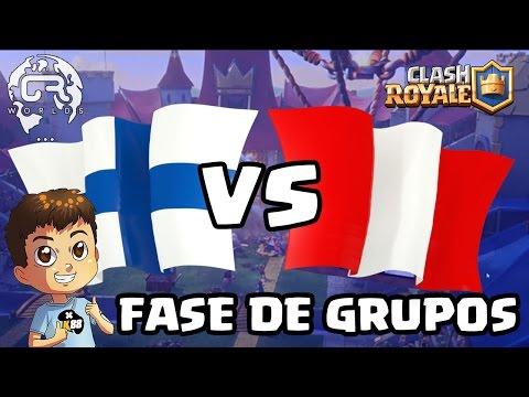 CR WORLDS - FINLANDIA VS PERU - KManuS88 - Clash Royale