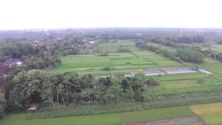 DRONE DJI PHANTOM PEMANDANGAN ALAM INDONESIA
