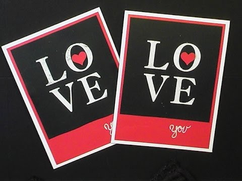 2015 StampinUp Occasions Sophisticated Serifs LOVE Card  YouTube