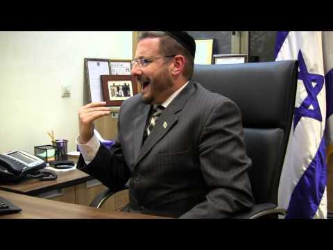 Israel Knesset Member Rabbi Dov Lipman Interviewed, June, 2013 (HD)