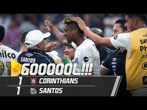 Corinthians 1 x 1 Santos | GOL | Amistoso (13/01/19)