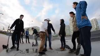 Драка в Янино в скейт-парке. Skatepark fight.