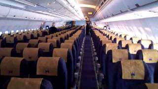 Empty Monarch flight Xperia X10