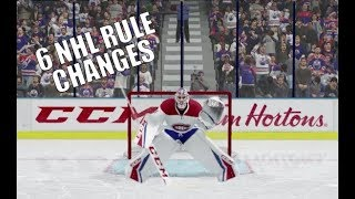 What if the NHL Made These 6 Changes in 2018? - Thumb League