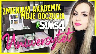 PRZEMEBLOWANIE AKADEMIKA + Moja subiektywna opinia o studiach w The Sims 4...