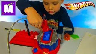 Хотвилс покраска машин установка с машинкой распаковка Hot Wheels Airbrush auto designer