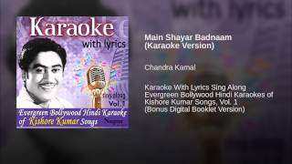 Main Shayar Badnaam (Karaoke Version)