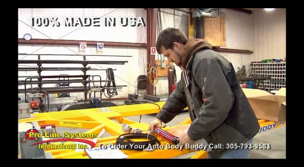 Body Buddy Frame Machine Set Up Youtube