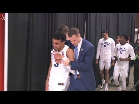 Duke leaves in tears after Elite Eight loss to Michigan State