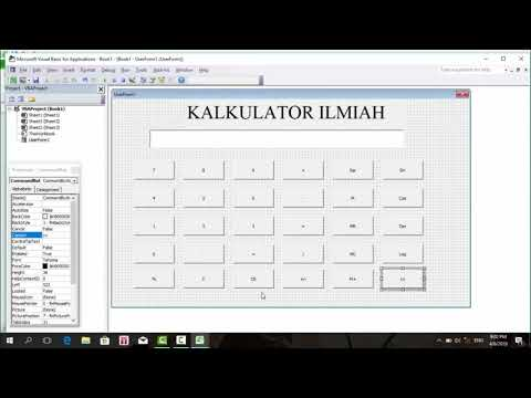 Cara Buat Visual Basic Di Excel