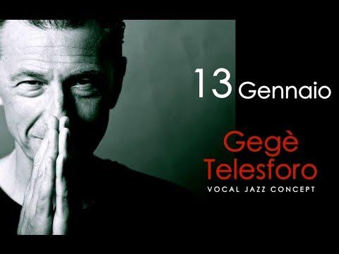 "Gegè Telesforo - Master Class ""vocal jazz concept"""
