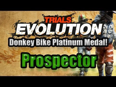 Trials Evolution Donkey Bike - Prospector Platinum Medal!