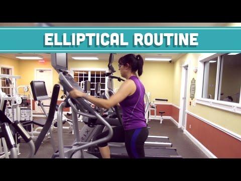 Elliptical Workout Routine Mind Over Munch