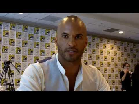 """SDCC 2014 The 100 - Ricky Whittle (""""The Grounder"""" / """"Lincoln"""")"""