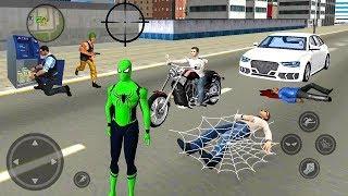 Spider Rope Hero Ninja Gangster Crime Vegas City #2 - Android Gameplay