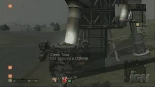 Chromehounds Xbox 360 Clip - The Battle Begins