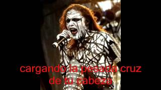 Thy Antichrist where is your god? (studio version) sub. en español