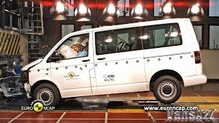 VW Transporter 2013 - Euro NCAP Crash Test