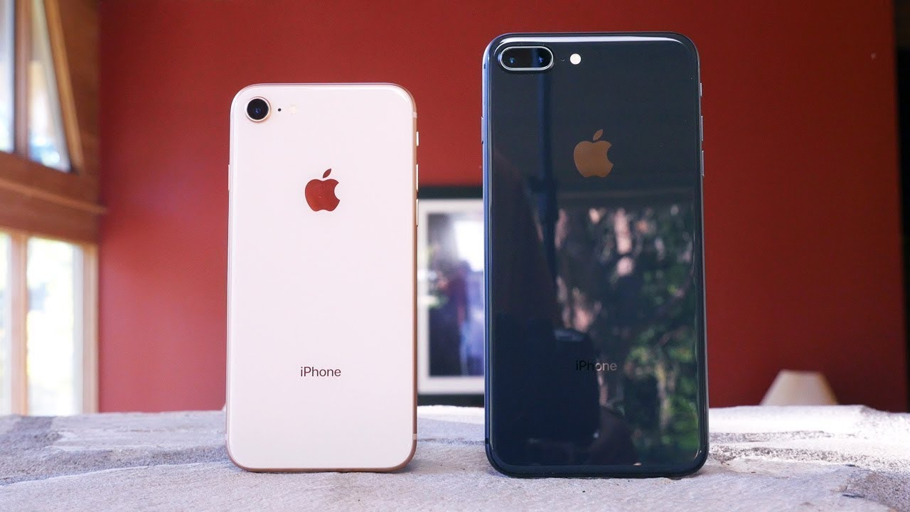iphone 8 and 8 plus review wait for the iphone x youtube. Black Bedroom Furniture Sets. Home Design Ideas