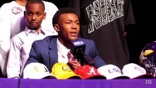 DeVonta Smith chooses Alabama, Elijah Walker signs w/LA Tech - Amite National Signing Day (Extended)