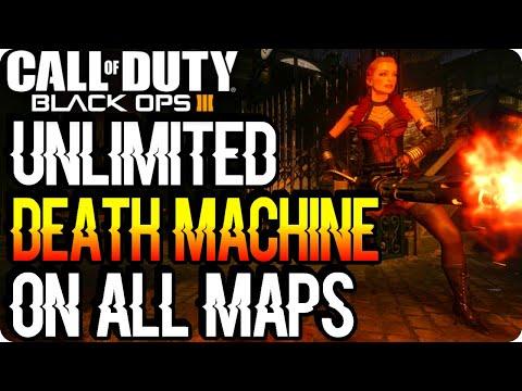 BO3 Zombie Glitches: Unlimited Death Machine Glitch On All Maps - Black Ops 3 Glitches
