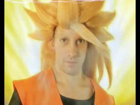 Super Saiyan1-2-3-Goku Transformation(Real Life)Parody