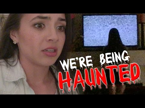 We're Being HAUNTED - MERRELL TWINS