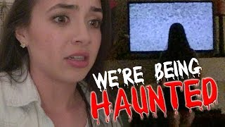 We're Being HAUNTED - MERRELL TWINS thumbnail