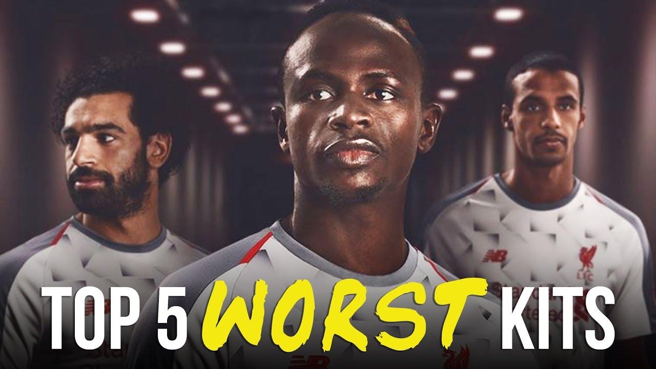 d604950af42 Top 5 WORST Premier League Kits