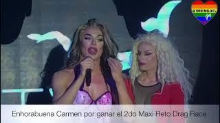 DRAG RACE ESPAÑA: Carmen Farala gana la 2da Maxi Prueba