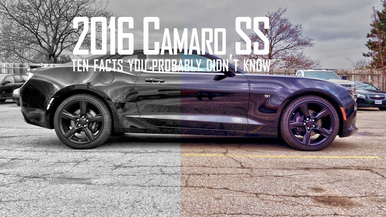 2016 Camaro SS  10 Facts You Didnt Know  YouTube