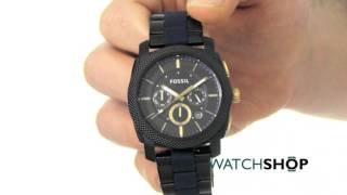 Fossil Men's MACHINE Chronograph Watch (FS5164)