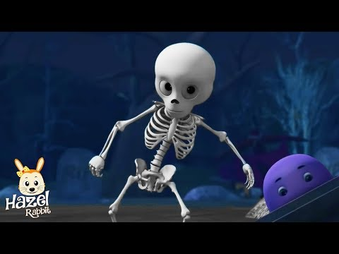 🐵😂 Halloween Songs for Kids + Nursery Rhymes | Music Videos for Children
