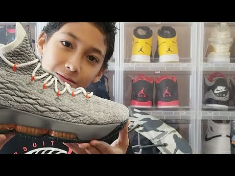 5ee18cd6ade Lebron 15 Safety Orange GS First Look Review! - YouTube