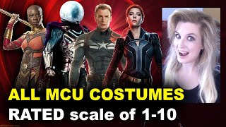 MCU Characters Ranked - Rate the Costumes!