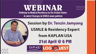 Pathway to Medical Residency in the United States & Latest Changes in USMLE Exam Pattern I Dr.Tenzin