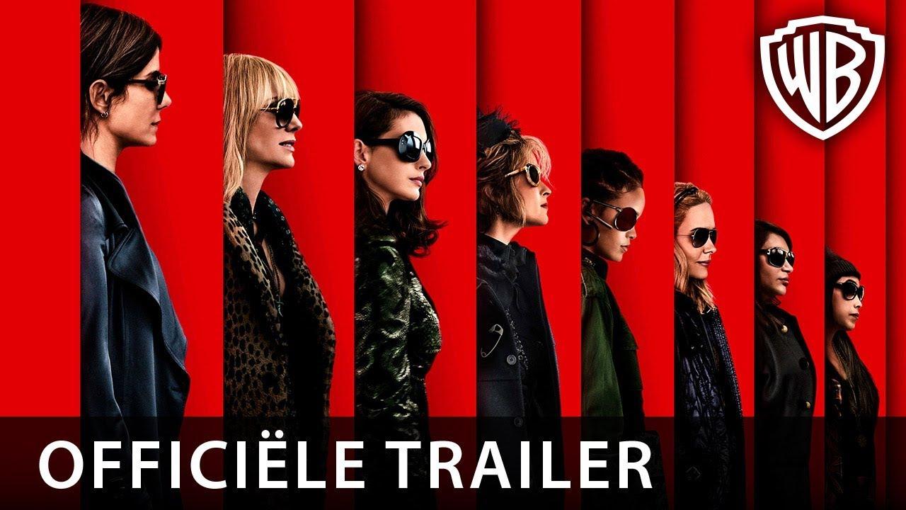 Ocean's 8 | Officiële trailer 1 NL | 21 juni in de bioscoop