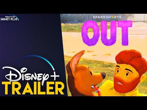 """Pixar Sparkshort """"Out"""" Disney+ Teaser Trailer"""