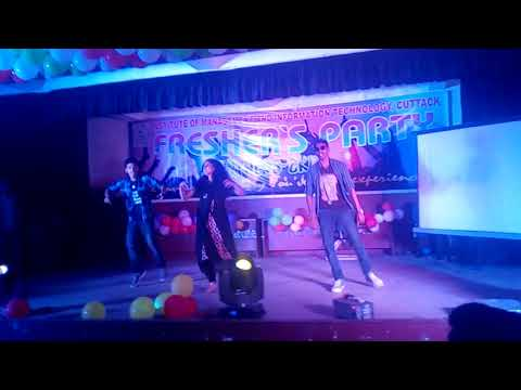 I.M.I.T college , Cuttack Fresher's party 2017 Video 2