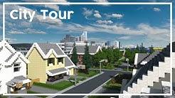 Minecraft City Tour