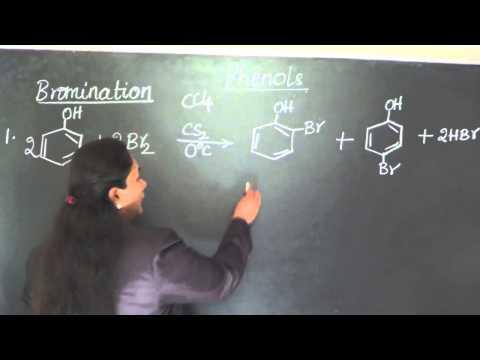 Bromination Of Phenols