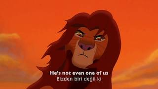 The Lion King 2 - Not One of Us - Turkish (Subs + Trans) HD