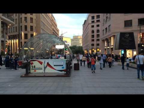 Yerevan, 19.06.16, Su, Video-2, (на русском), Северный проспект