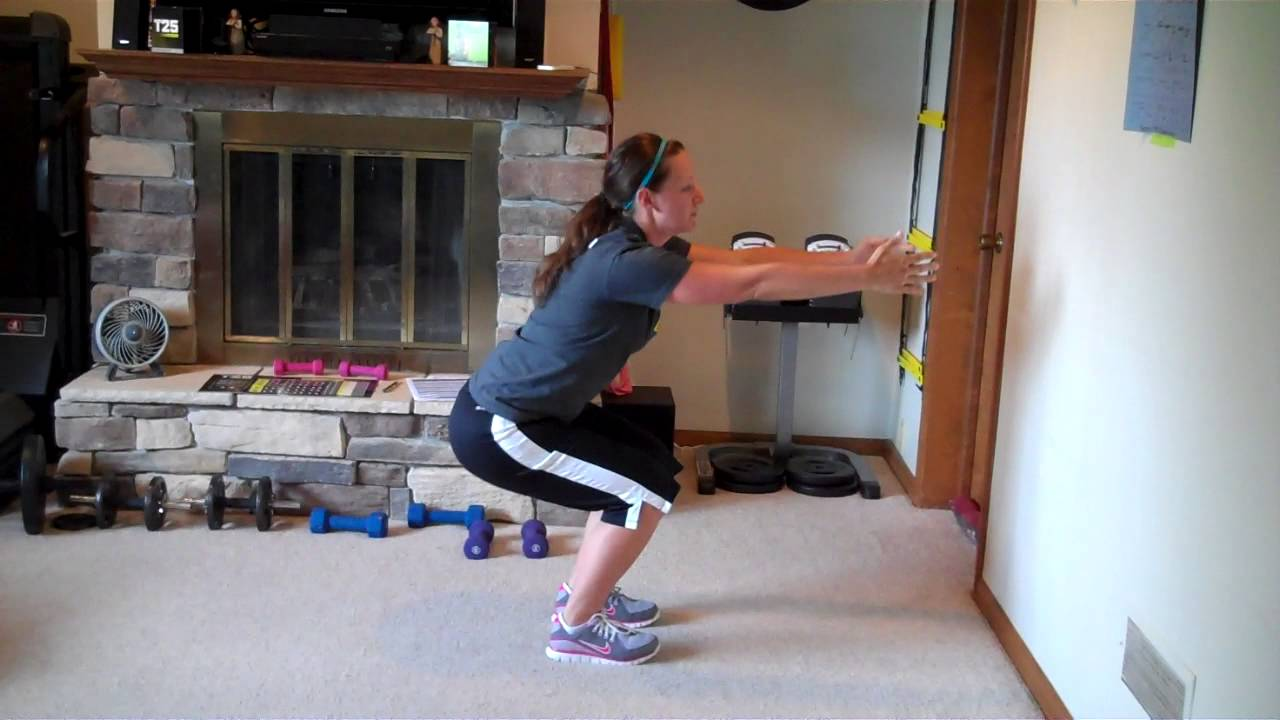 Correct form for push ups, squats, crunches and burpees - YouTube