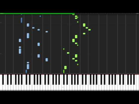 Megalo Strike Back - I Miss You - EarthBound 2012[Piano Tutorial] (Synthesia)