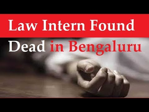 Law Intern found dead in Bengaluru after filing Sexual Harassment complaint against lawyers